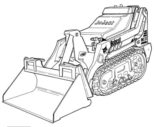 Bobcat Mt50 Mini Track Loader Service Repair Manual