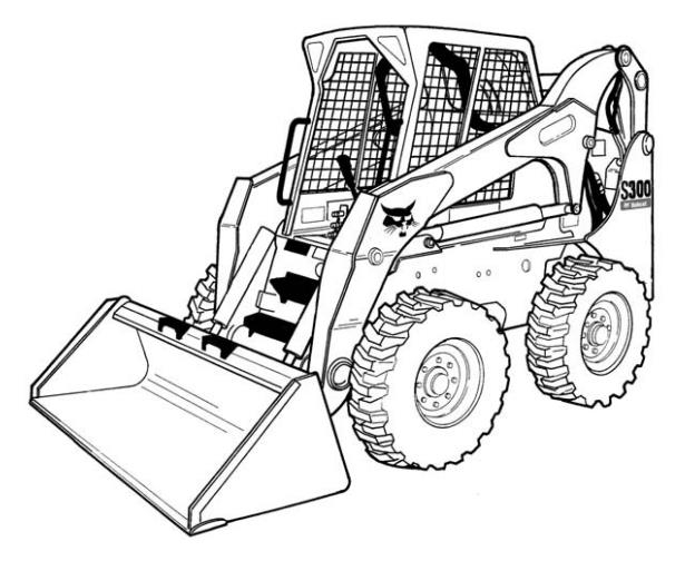 Bobcat S300 Skid Steer Electrical Diagrams