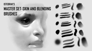 Skin and Blending Brushes by Istebrak