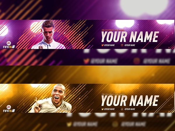 FIFA 18 YT BANNERS