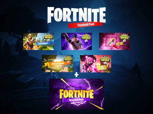 Fortnite Thumbnail Pack by Zert