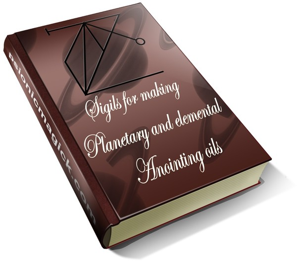 Sigils for Making Planetary and Elemental Anointing Oils