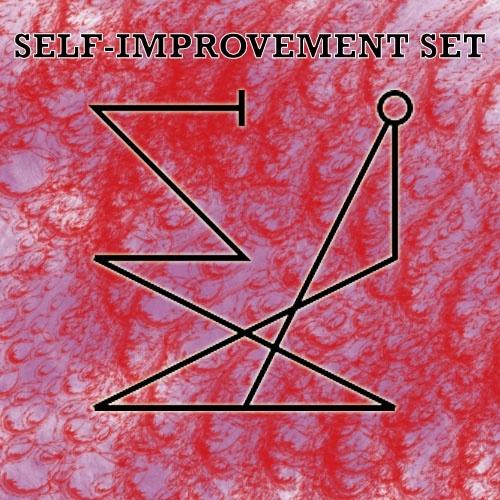 Self-improvement sigil set