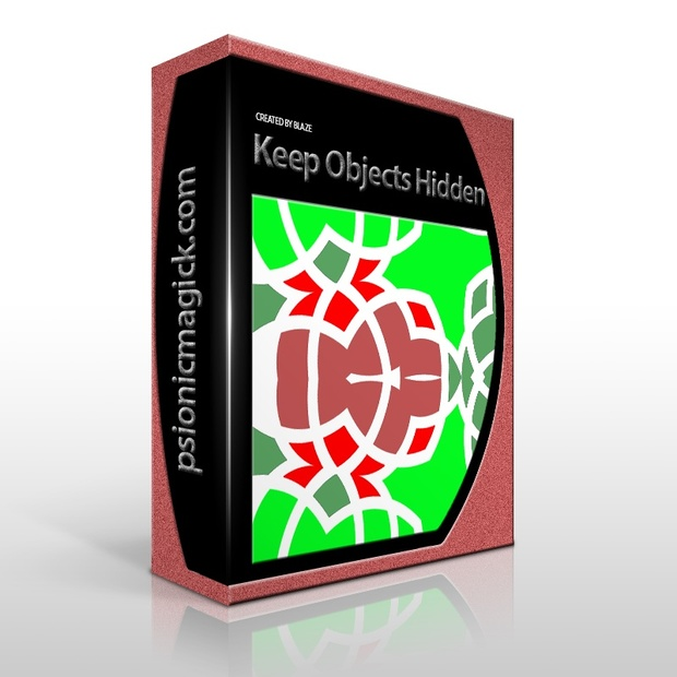 Keep Objects Hidden Sigil