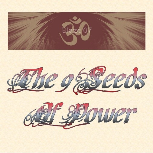 The 9 Seeds Of Power
