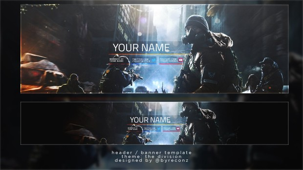 The Division Header / Banner Template