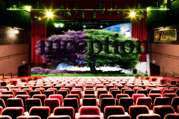 D.M theater background image