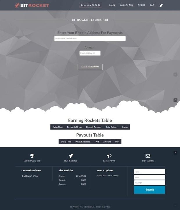 Investment Software Platform Profit3HYIP BTC