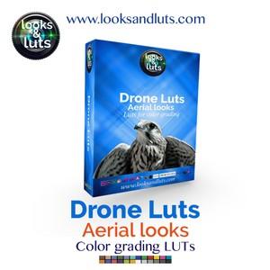 Aerial DRONE Luts Pack - 30 luts! plus technical & bonus LUTs!