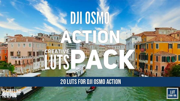 DJI OSMO Action Creative LUTs Pack