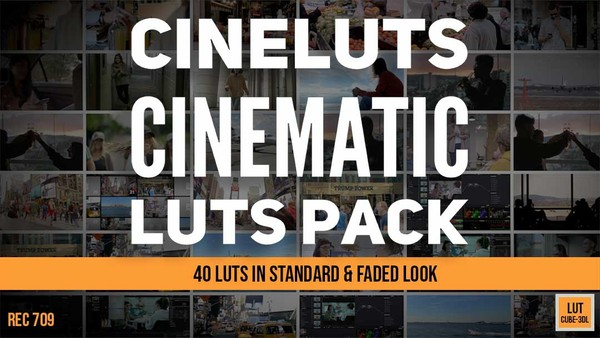 CINELUTS Cinematic Luts Pack
