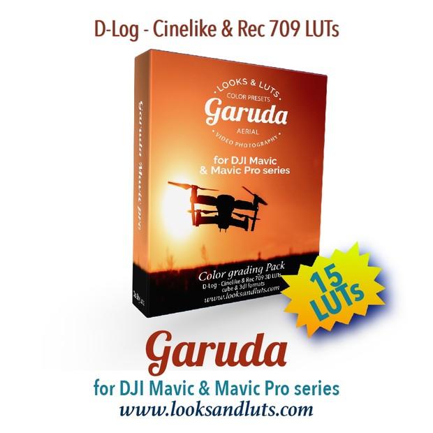 GARUDA Color Presets for DJI Mavic & Mavic Pro Series