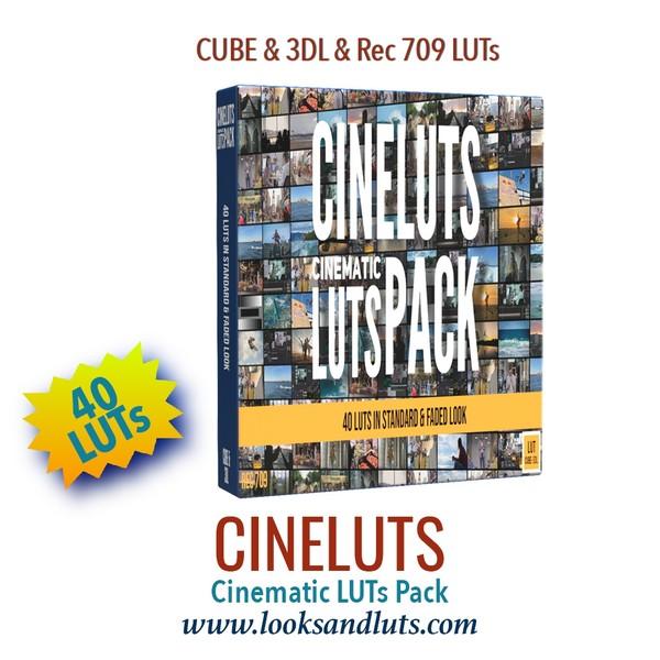 CINELUTS Cinematic Luts Pack