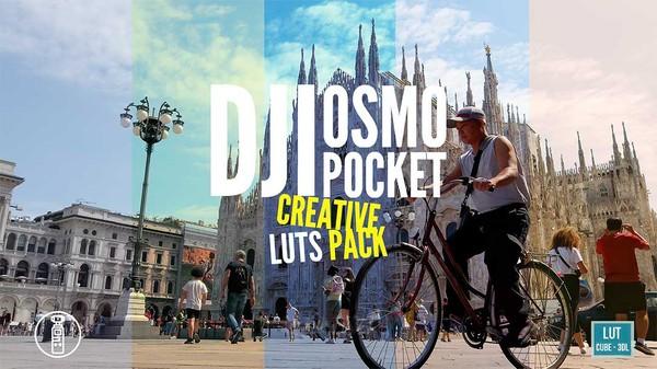DJI OSMO POCKET Creative LUTs Pack