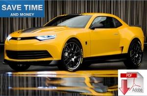 Chevrolet Camaro 2016 2017 Repair Manual