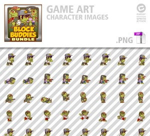 BlockBuddies Zombie Bundle