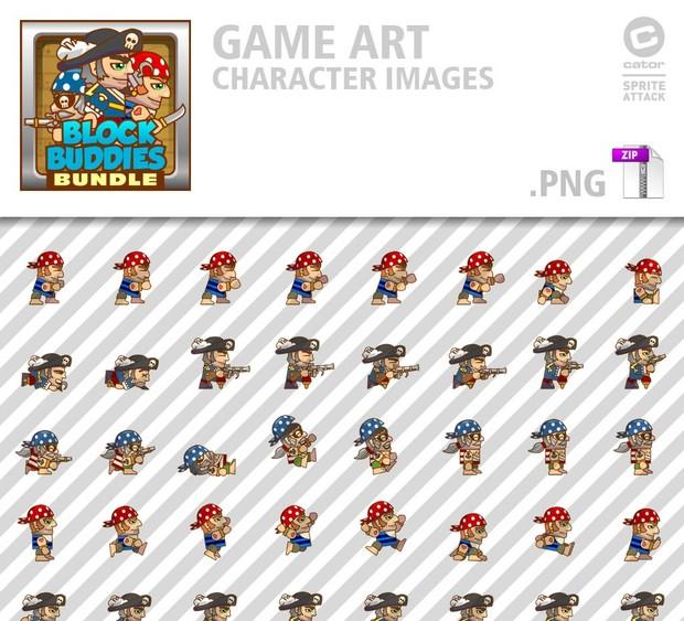 BlockBuddies Pirate Bundle
