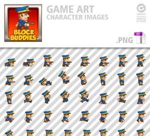 BlockBuddies Policeman