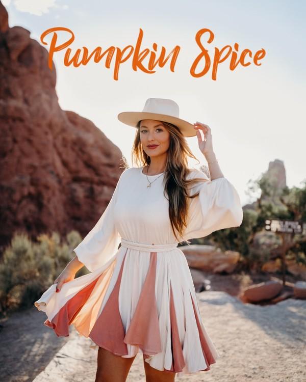 Pumpkin Spice Lightroom Preset