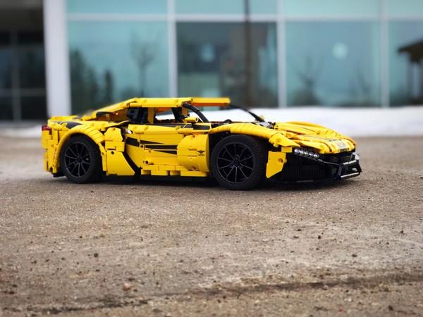 Rezvani Beast Alpha - Supercar Lego Technic Instructions