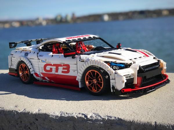 Nissan GT-R Lego RC / Manual