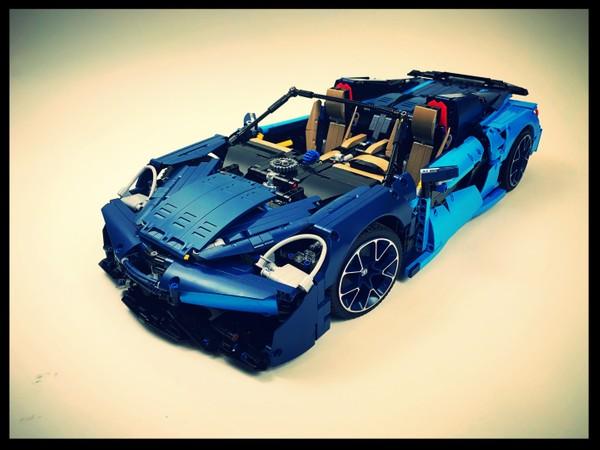 McLaren 570S - Lego Bugatti 42083 B-Model