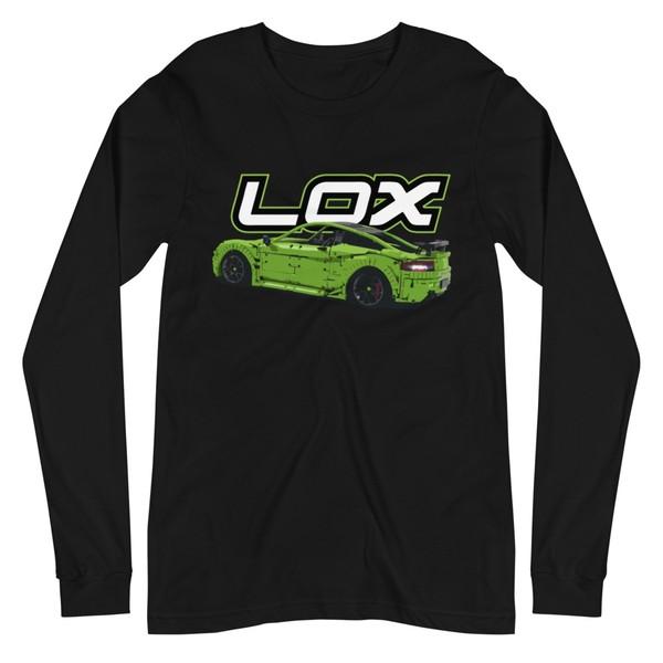 Green car long sleeve T shirt