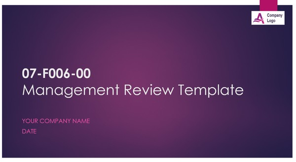 Management Review Procedure per AS9100 - ISO 9001