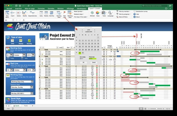 Gantt Chart Maker PRO