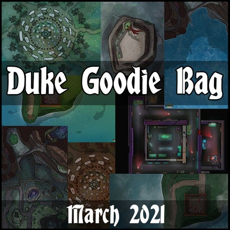 Chibbin Duke Goodie Bag March 2021