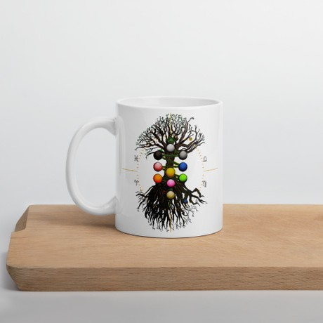 Chibbin Tree Of Life Mug