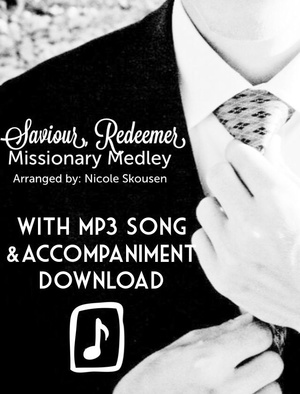 Saviour Redeemer Missionary Medley Sheet Music with MP3 Song and Accompaniment Track Download