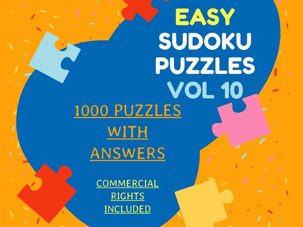 1000 easy Sudoku puzzles with answers vol 10