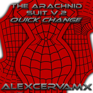 AlexCerva's The Arachnid Suit v2 (Quick Change) Dye Sub Pattern