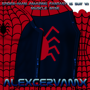 AlexCerva's SM Amazing Fantasy #15 Suit v 1 Dye-Sub Pattern (With Shade)