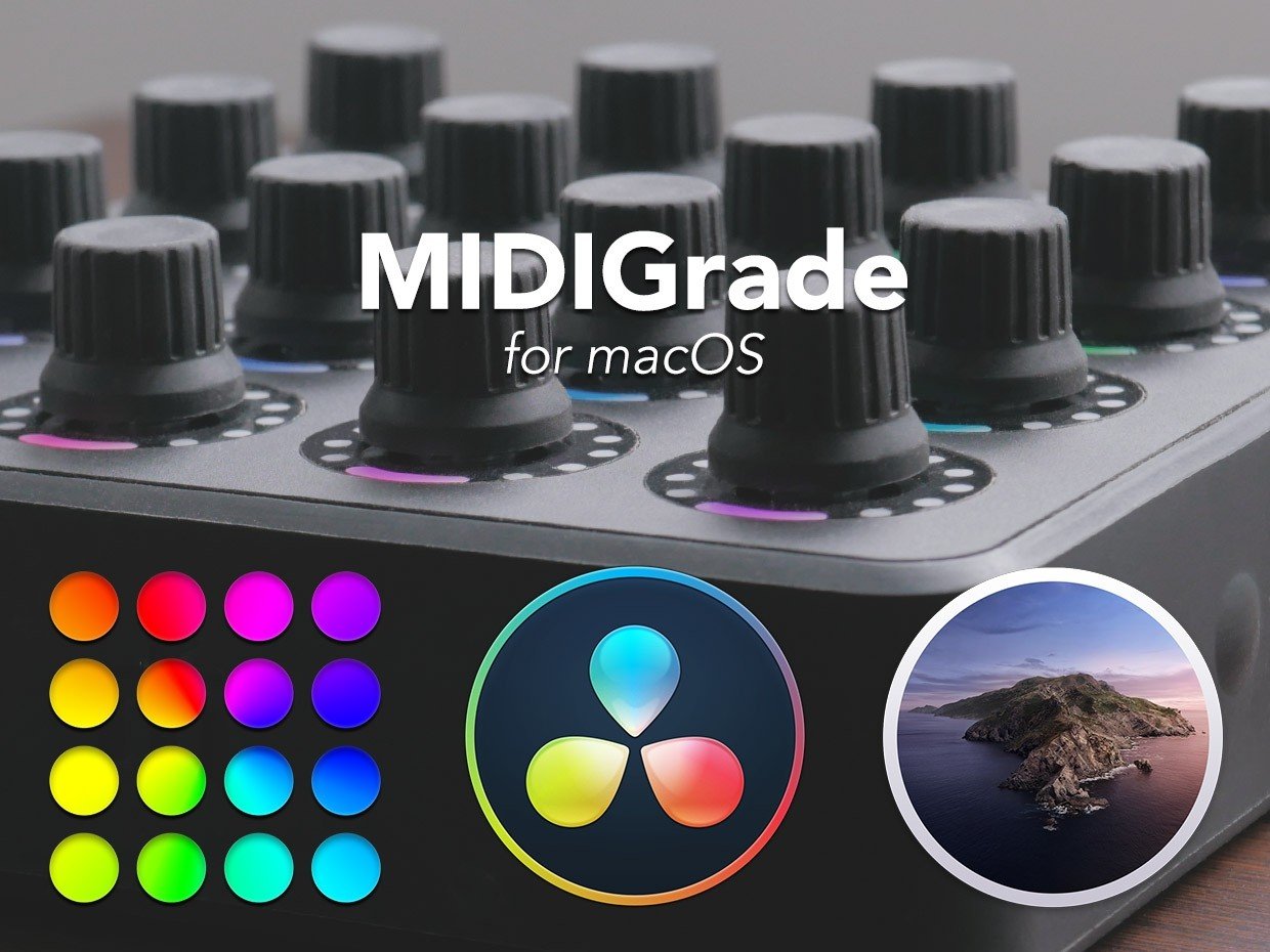 MIDIGrade for macOS