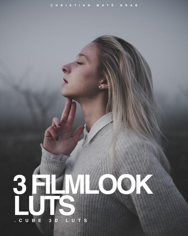 3 FILMLOOK LUTS FOR SONY Cine4