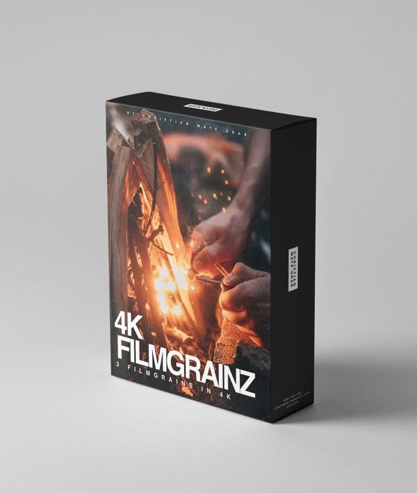 4K FILMGRAINZ | ProRes 4:2:2 Film Grain