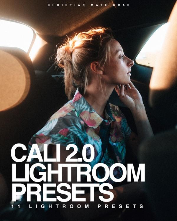 CALI 2.0   11 Lightroom Presets