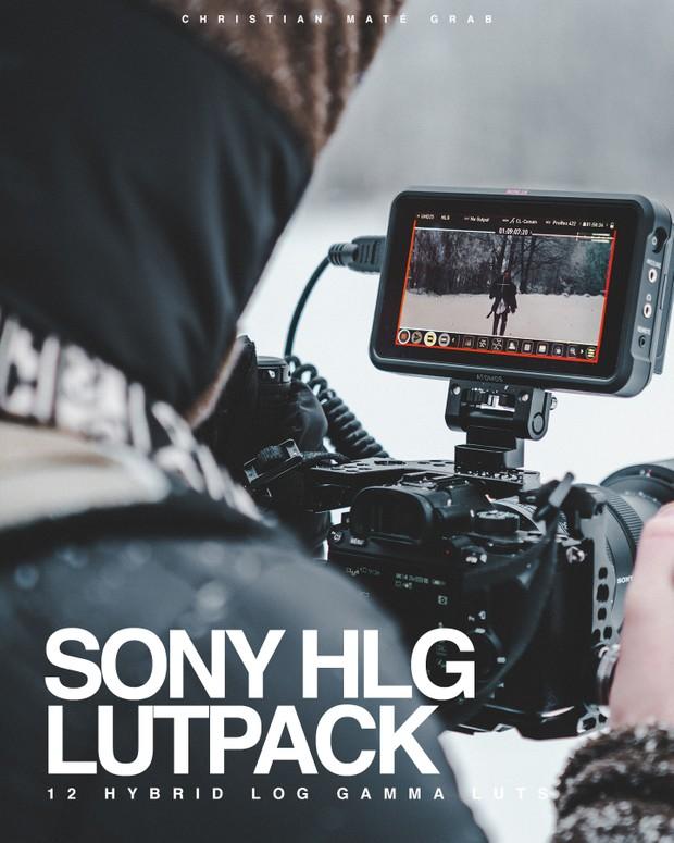 HLG CINEMATIC LUT PACK | Sony A7III (HLG3) Hybrid Log Gamma