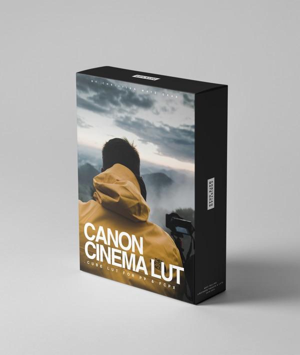 Canon Cinema LUTs | Canon R, 6D, 5D Mark IV, 80D