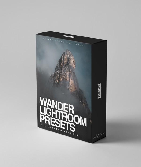 WANDER | 15+ Lightroom Presets for Mobile & Desktop