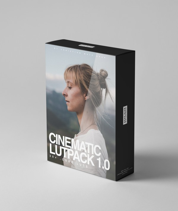 Cinematic LUTPACK 1.0 by CMG