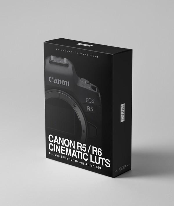 Canon R5 & R6 Cinematic LUTs (LOG & Rec.709)