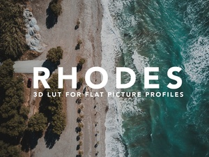 CMG RHODES LUT for Flat Picture Profiles
