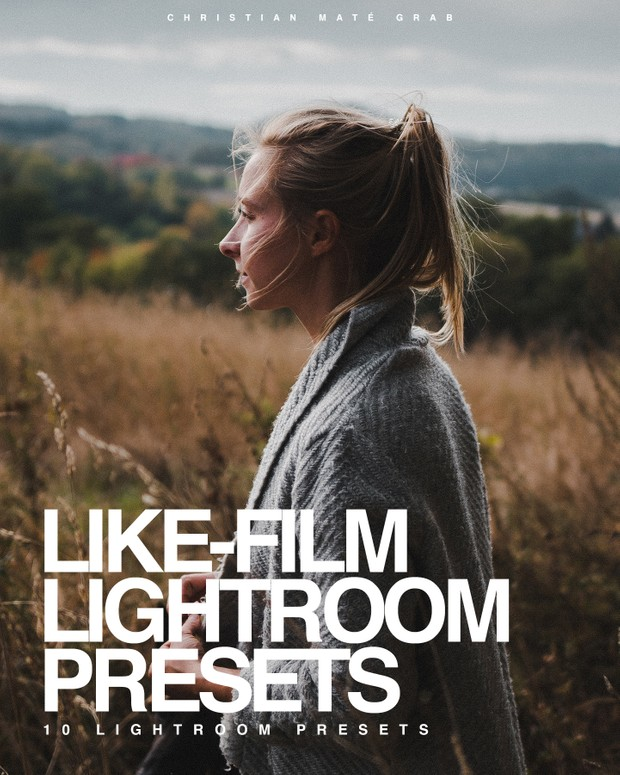 LIKE FILM | 10 Lightroom Presets