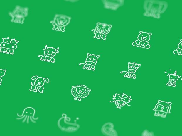 Animals Line Icons