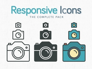 Responsive Icons - The Complete Pack