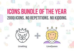 LineKingdom Icons Bundle