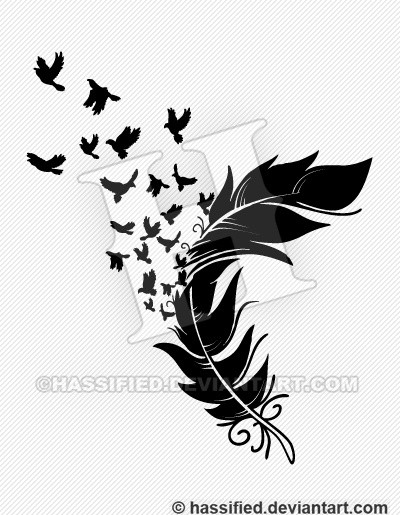 Birds from a Feather - printable, vector, svg, art